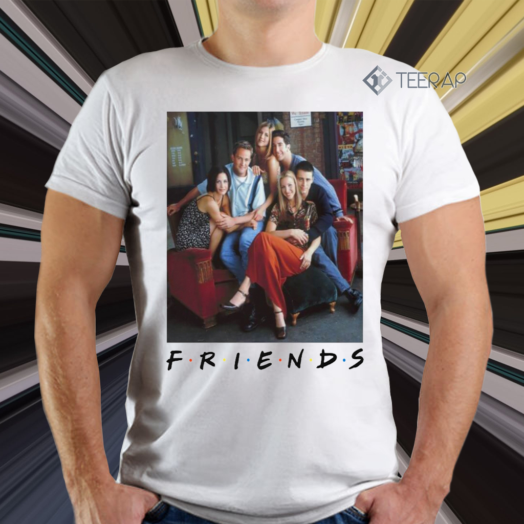 Friends Vintage Character T Shirts - Pascal Siakam