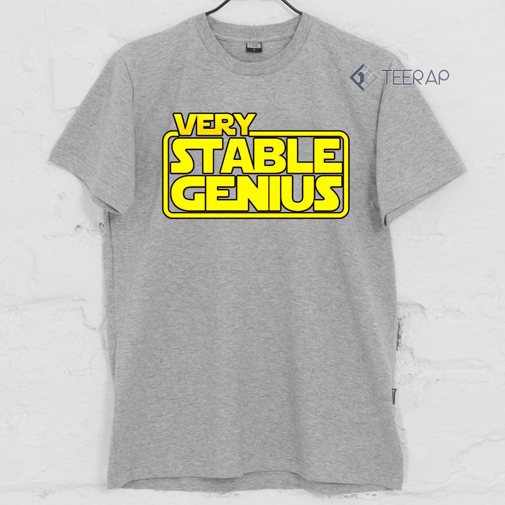 Will Ferrell Very Stable Genius Hot T Shirt