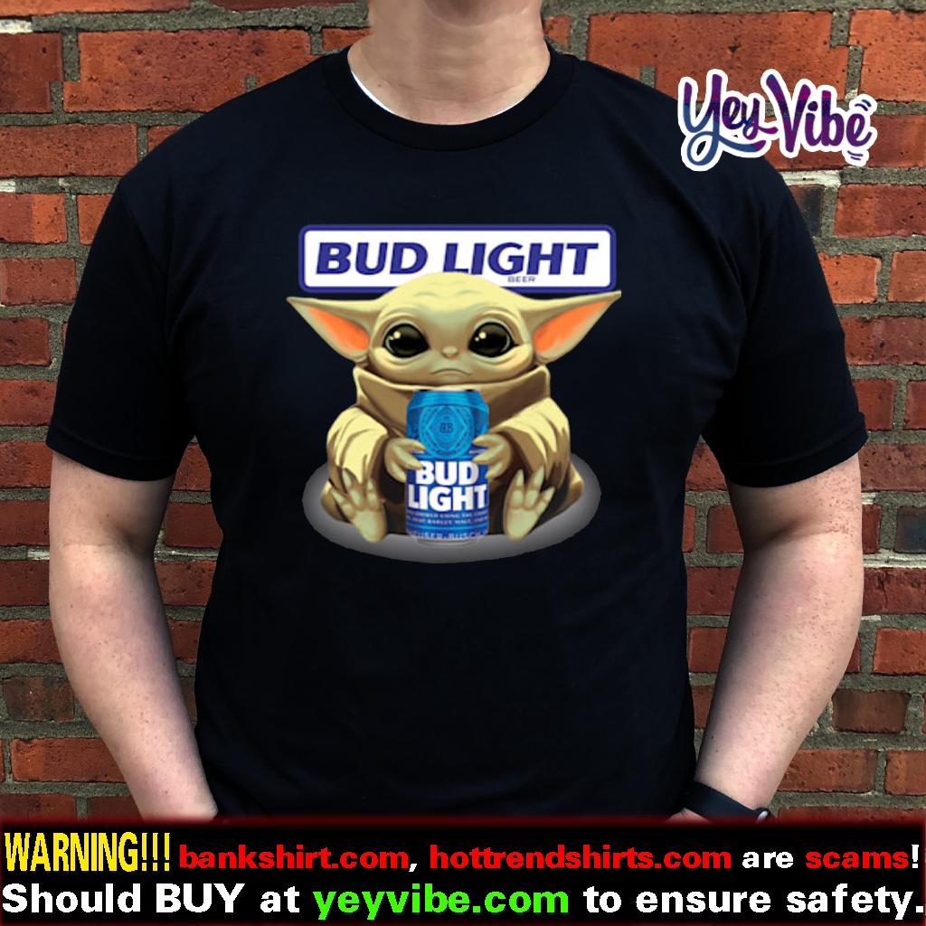 Baby Yoda Bud light shirt