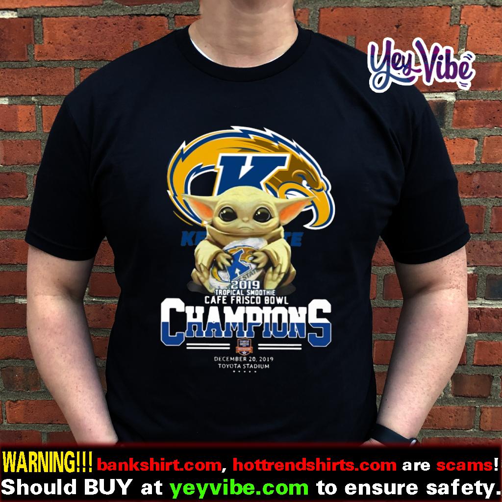 Baby Yoda Kent State Golden Flashes 2019 T Shirts