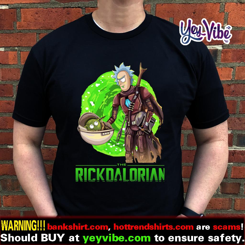 Baby Yoda Rickdalorian t shirts