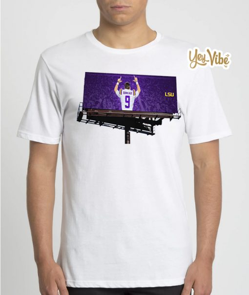 Joe Burreaux Tee Shirts - LSU Tigers football