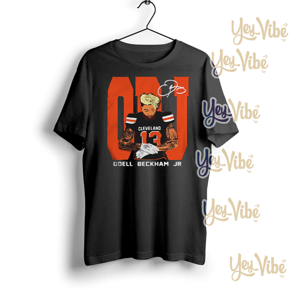 Odell Beckham Jr Cleveland Browns Signature shirts