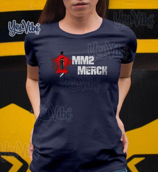Roblox Mm2 Merch T Shirt Hoodie Sweatshirt And Long Sleeve