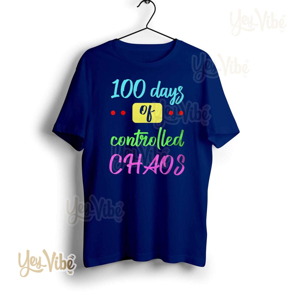 100Th Day Of School Design For Kindergarten shirt