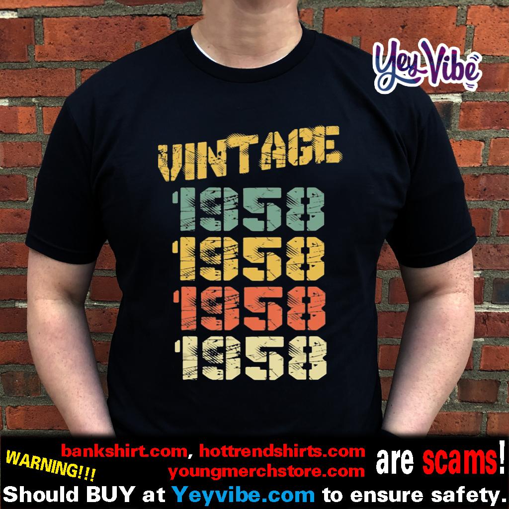 1958 Vintage 62nd Birthday T-Shirt