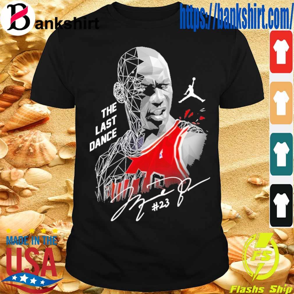 Michael jordan The last dance #23 signature shirt