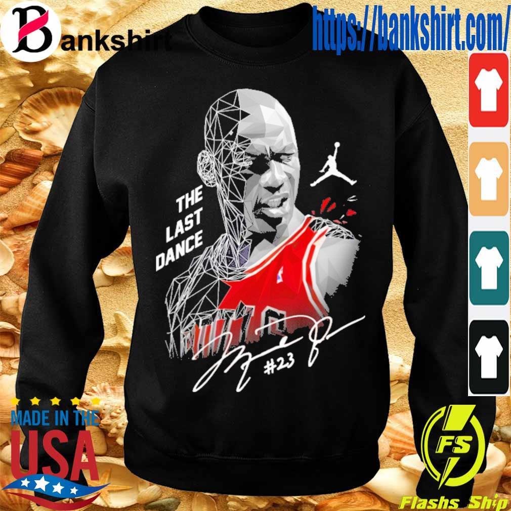 Michael jordan The last dance #23 signature s Sweatshirt