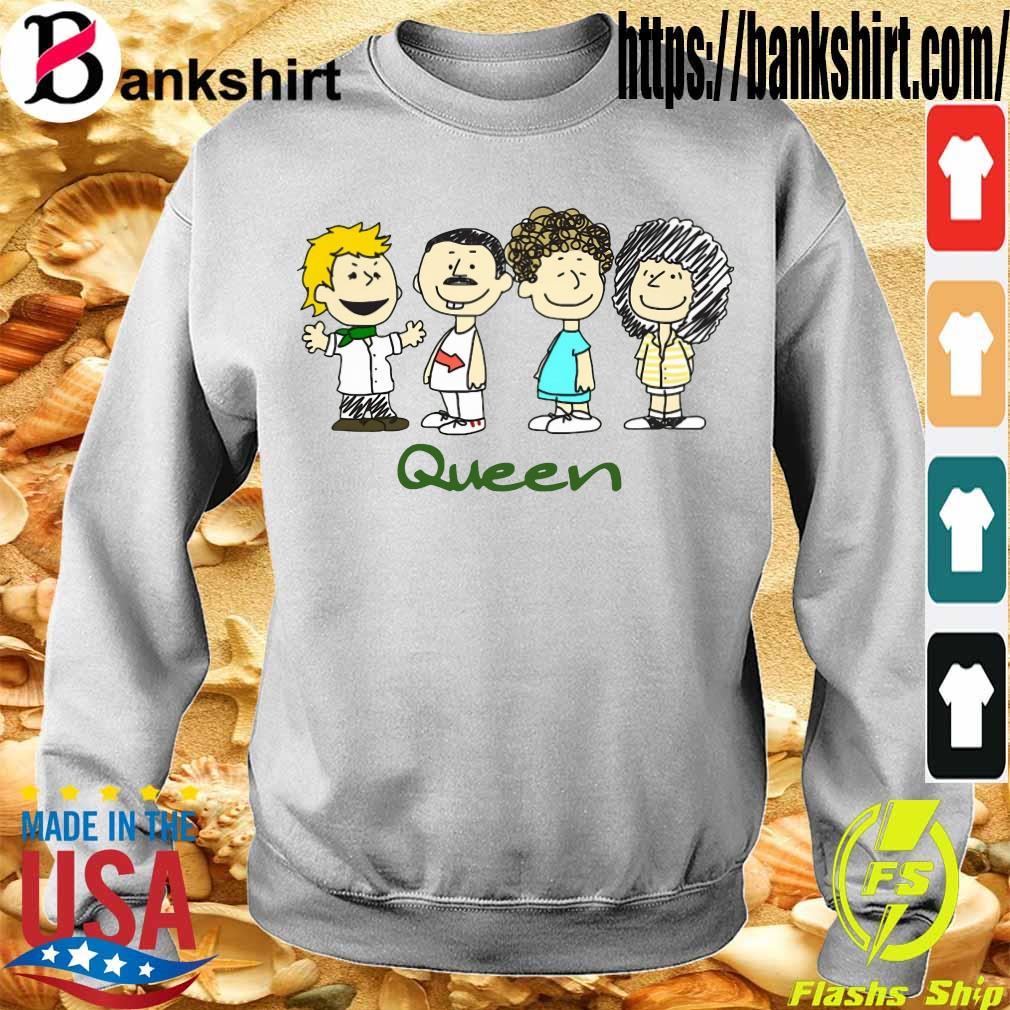 Nice The peanuts characters queen s Sweatshirt