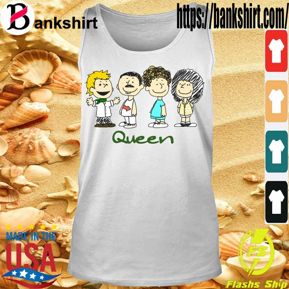 Nice The peanuts characters queen s Tanktop