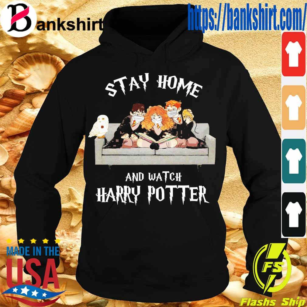 Official stay home and Watch Harry Potter s Hoodie