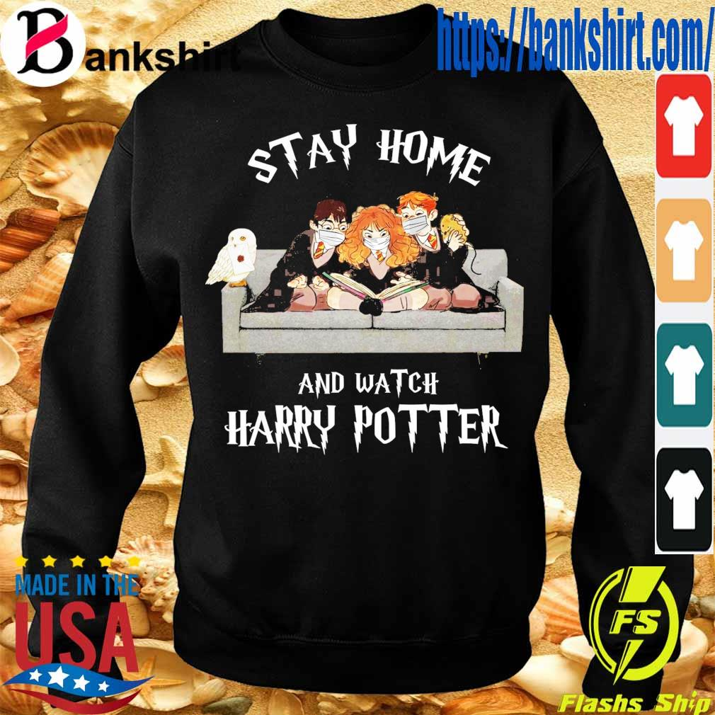 Official stay home and Watch Harry Potter s Sweatshirt