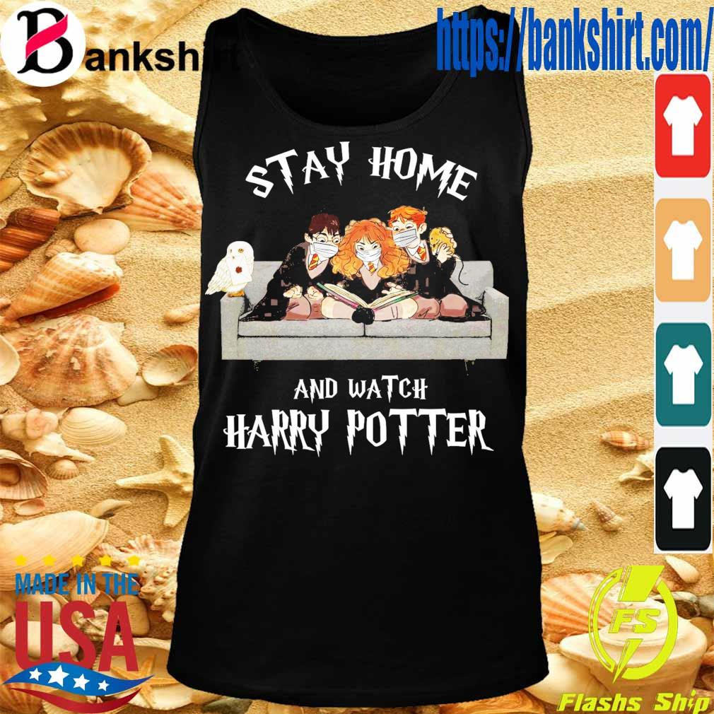 Official stay home and Watch Harry Potter s TankTop