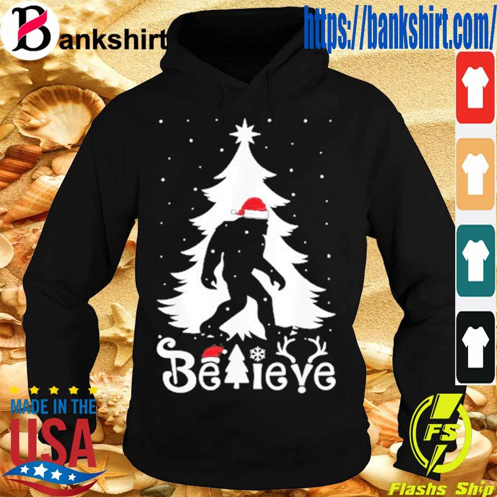 Santa Bigfoot believe Christmas s Hoodie