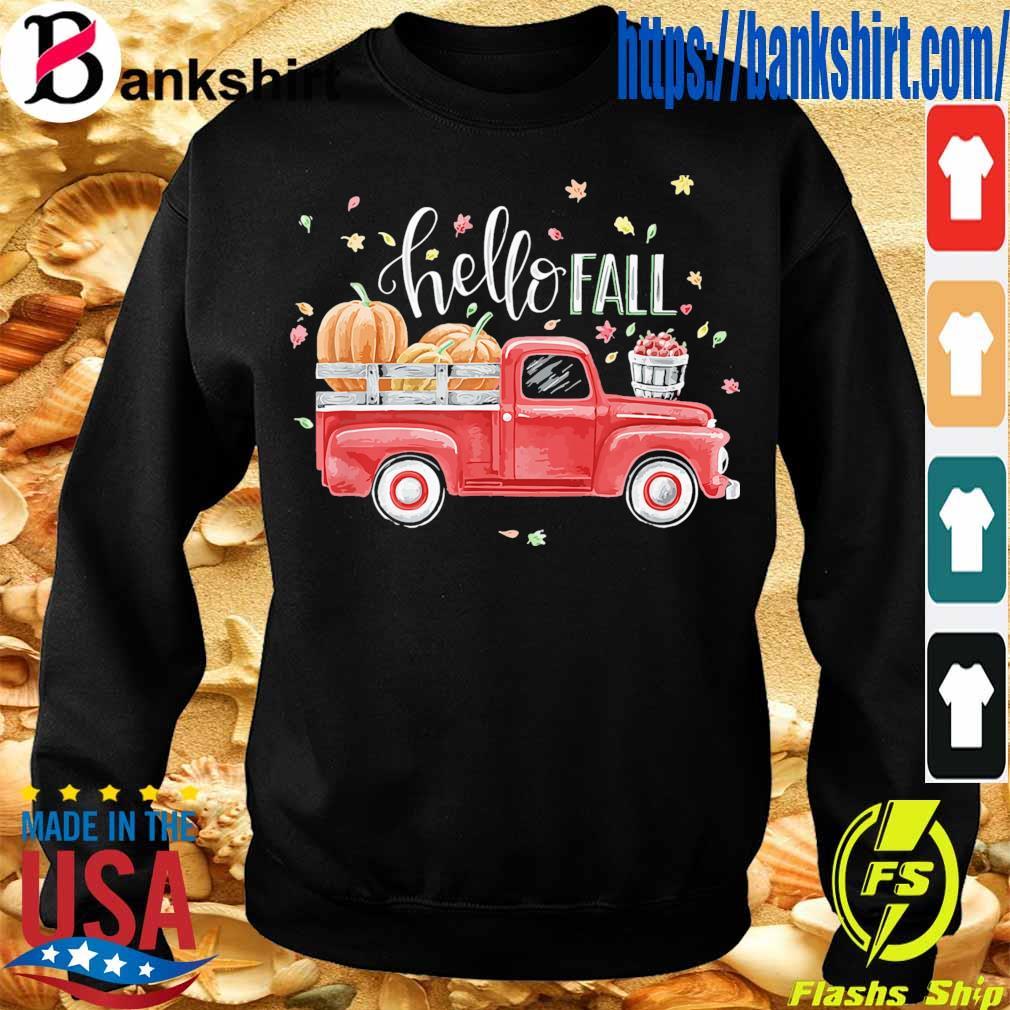 Truck Pumpkin Hello Fall s Sweatshirt