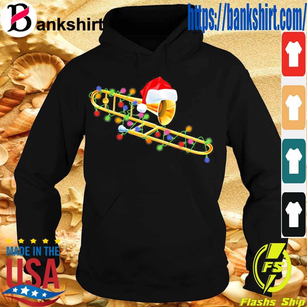 Trumpet Santa light Christmas s Hoodie