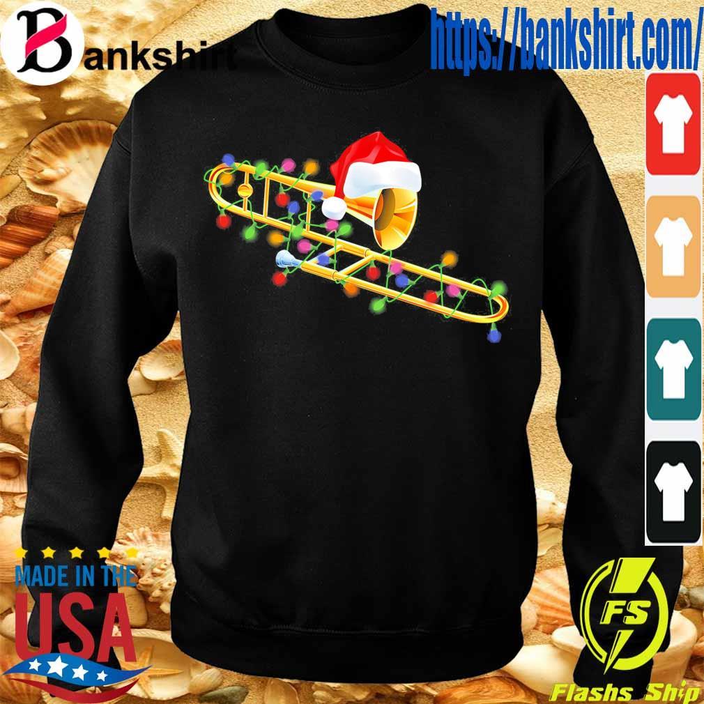 Trumpet Santa light Christmas s Sweatshirt