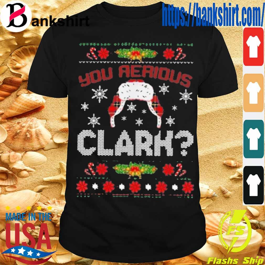 Official You Serious Clark Shirt
