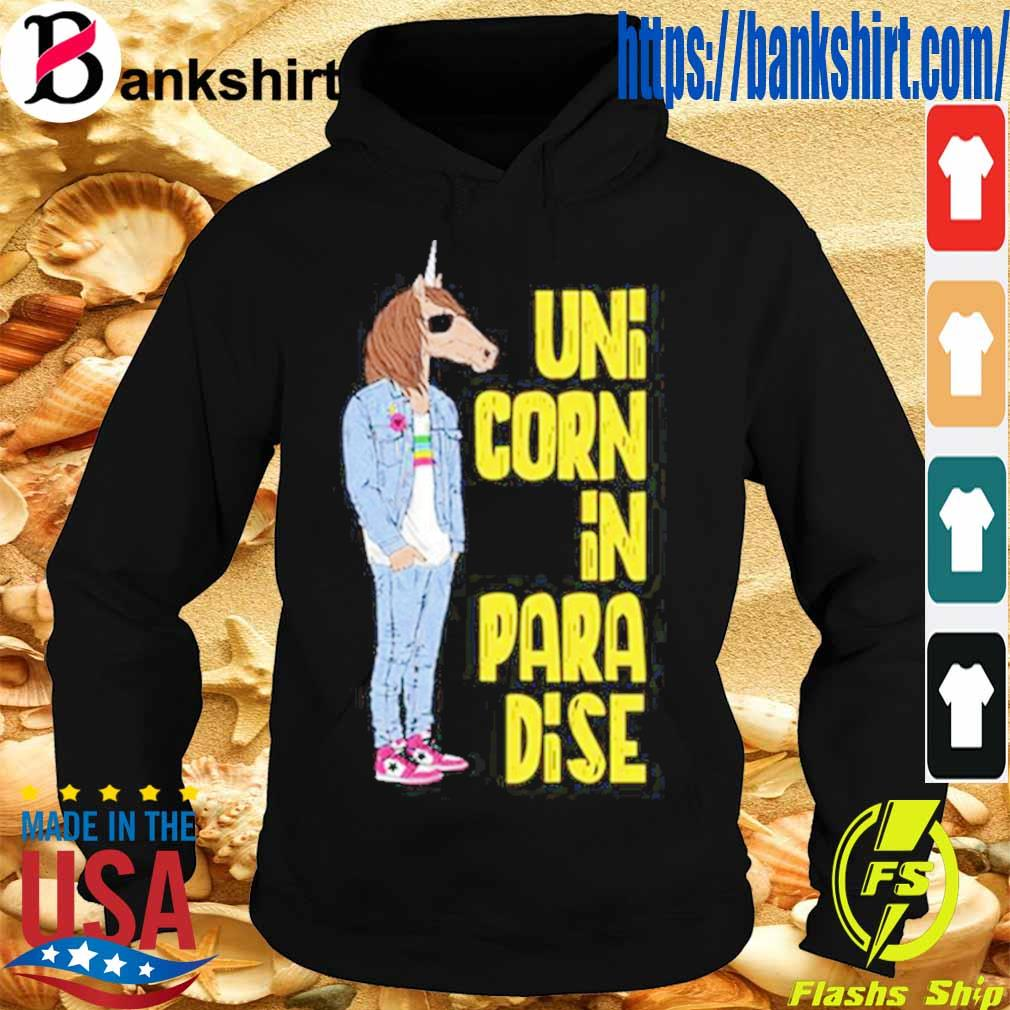 Unicunicorn In Paradise Shirtorn In Paradise Shirt Hoodie