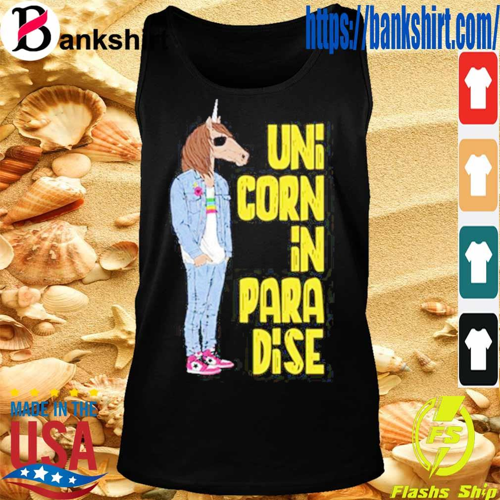 Unicunicorn In Paradise Shirtorn In Paradise Shirt TankTop