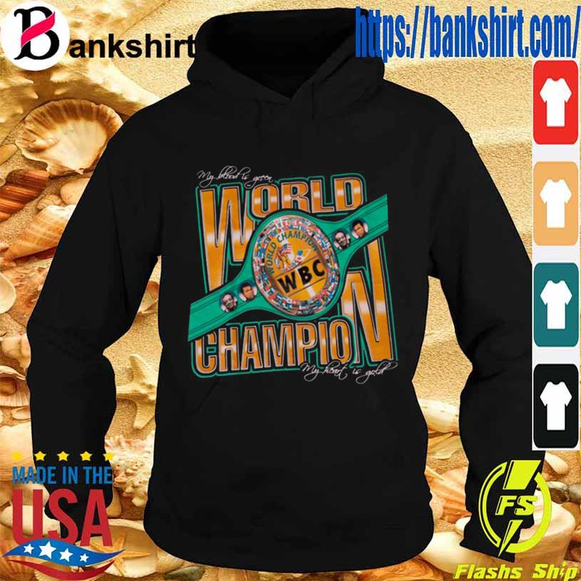 Wbc World Champion Shirt Hoodie