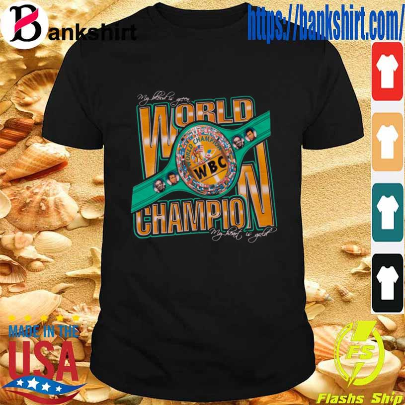 Wbc World Champion Shirt