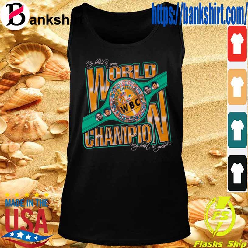 Wbc World Champion Shirt TankTop